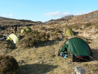 Backpacking in Snowdonia